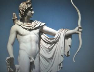 Apoll, in der griech. Antike Gott des Lichts, der Heilung, der Künste ...